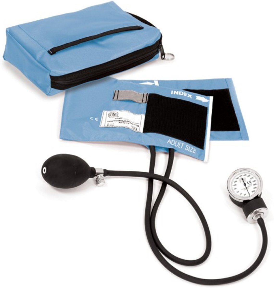 Bloeddrukmeter Met Etui Hemelsblauw