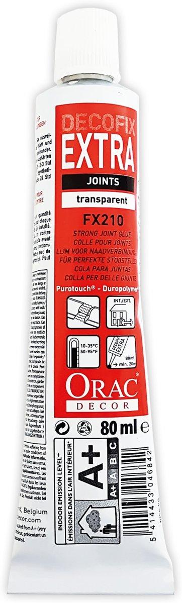 DecoFix Extra Origineel Orac Decor FX210 Lijm voor perfecte naadverbindingen 80 ml kopen