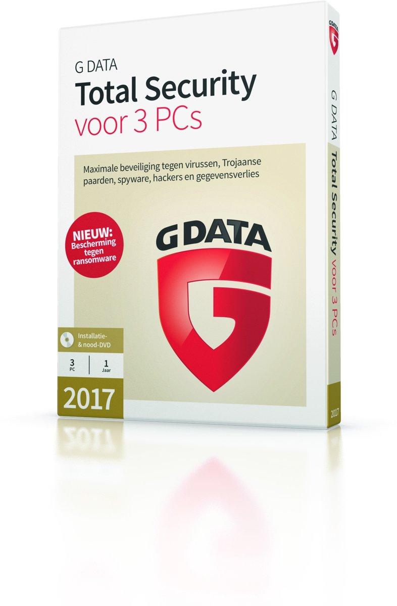 G Data Total Security - Nederlands - 3 Apparaten - Windows kopen