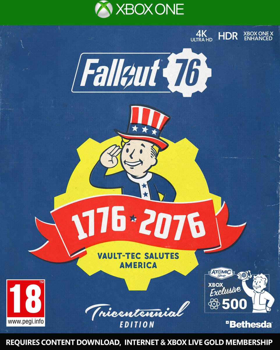 Fallout 76 - Tricentennial Edition Xbox One