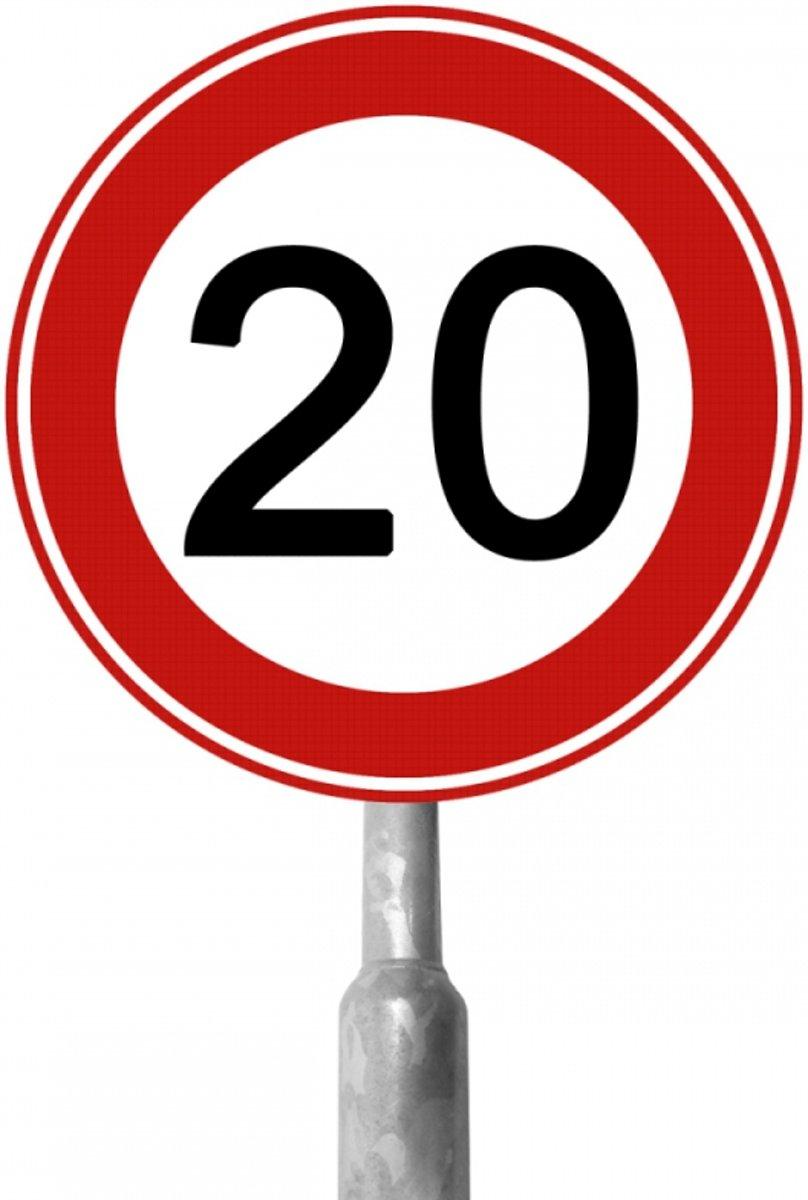 Snelheidsbord 20 Km Set 40-390 kopen