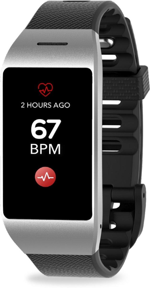 MyKronoz Smartwatch ZeNeo - Zilver/Zwart kopen