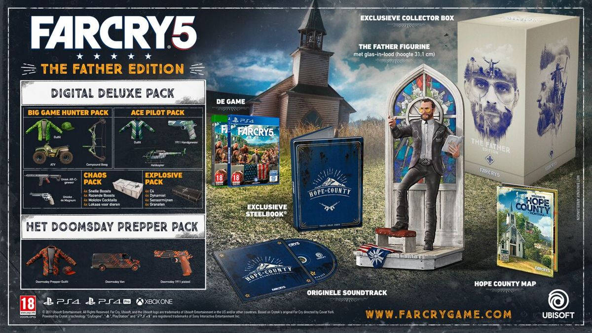 Far Cry 5 - The Father Edition PlayStation 4