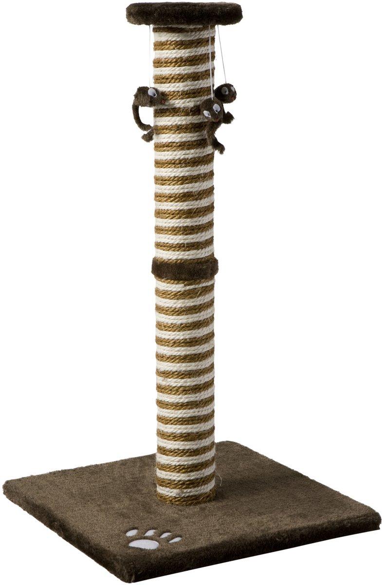 Adori Krabpaal Op Voet Nina - Bruin - 42 x 42 x 75 cm