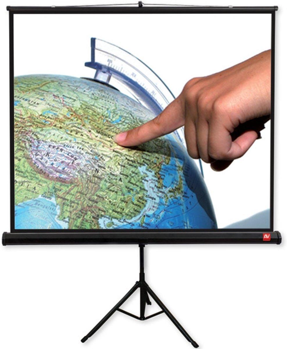 Avtek International TRIPOD Pro 180 1:1 Zwart, Wit projectiescherm kopen