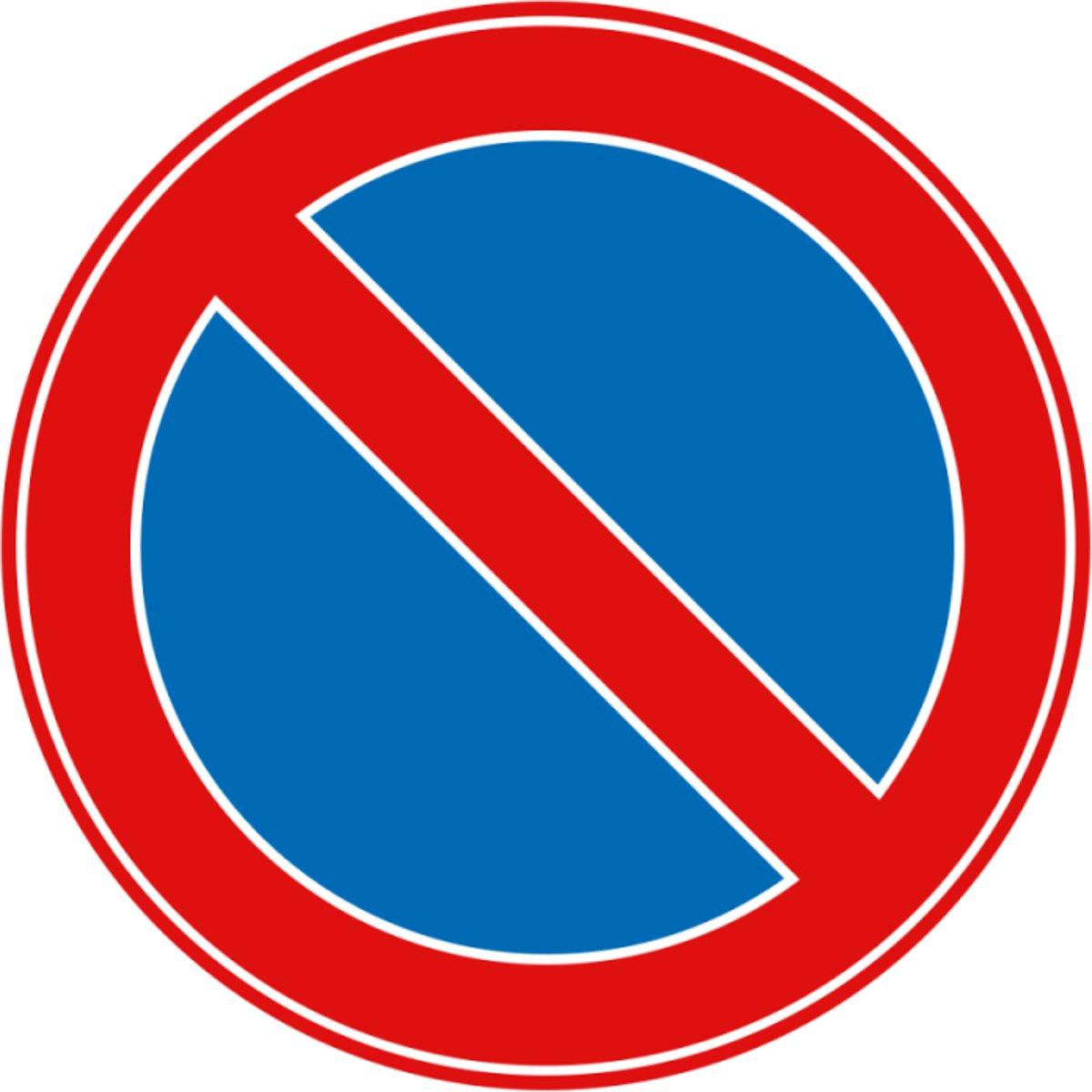 Verkeersbord Parkeerverbod kopen