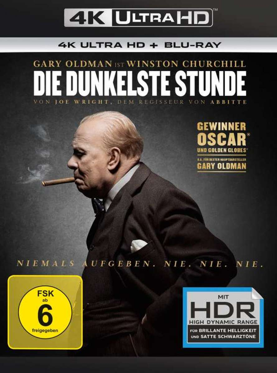 Darkest Hour (2017) (Ultra HD Blu-ray & Blu-ray)-