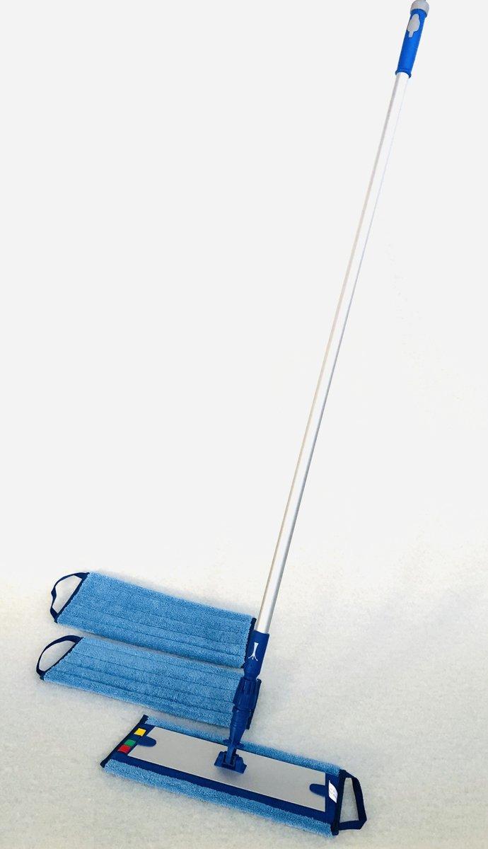 Complete vlakmopset met spraysteel en 3 vlakmoppen kopen