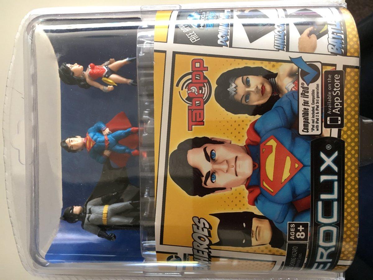 Tabapp Heroclix Marvel Heroes met o.a. Superman en Batman !