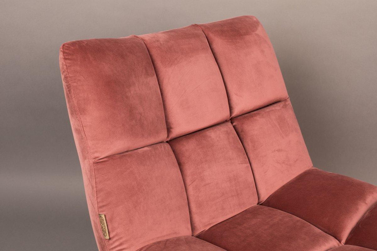 Oud Roze Fauteuil : Bol dutchbone bar velvet fauteuil oud roze