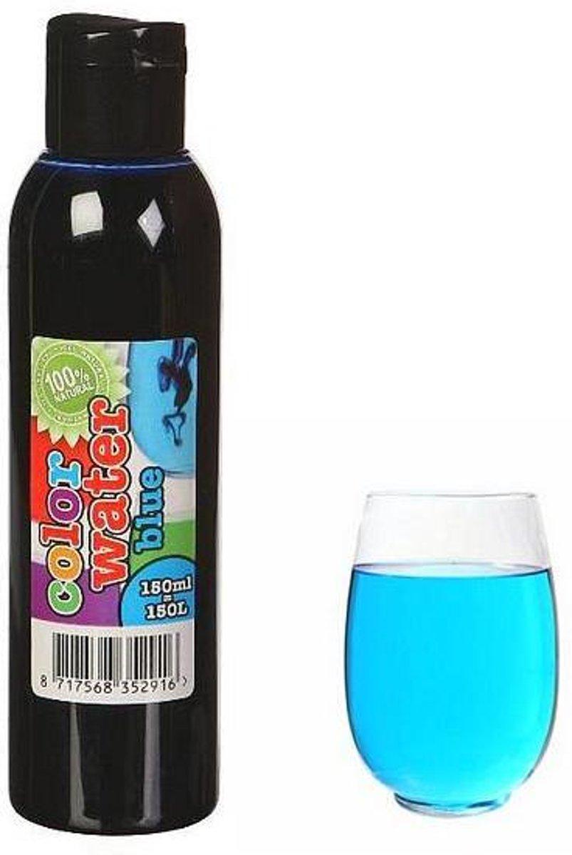 Kleurstof 150 ml - blauw - set van 6 stuks kopen