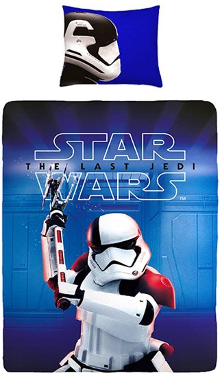 Star Wars - Dekbedovertrek - Eenpersoons - 140x200 cm + 1 kussensloop 60x70 cm - Blue kopen
