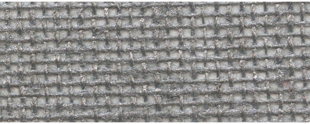 Afbeelding van product Jute tafelloper 30x300cm zilve