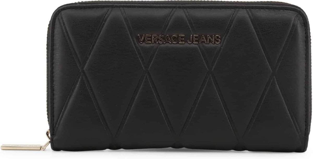 Versace Jeans Linea L Dis. 1 large ZA dames portemonnee black