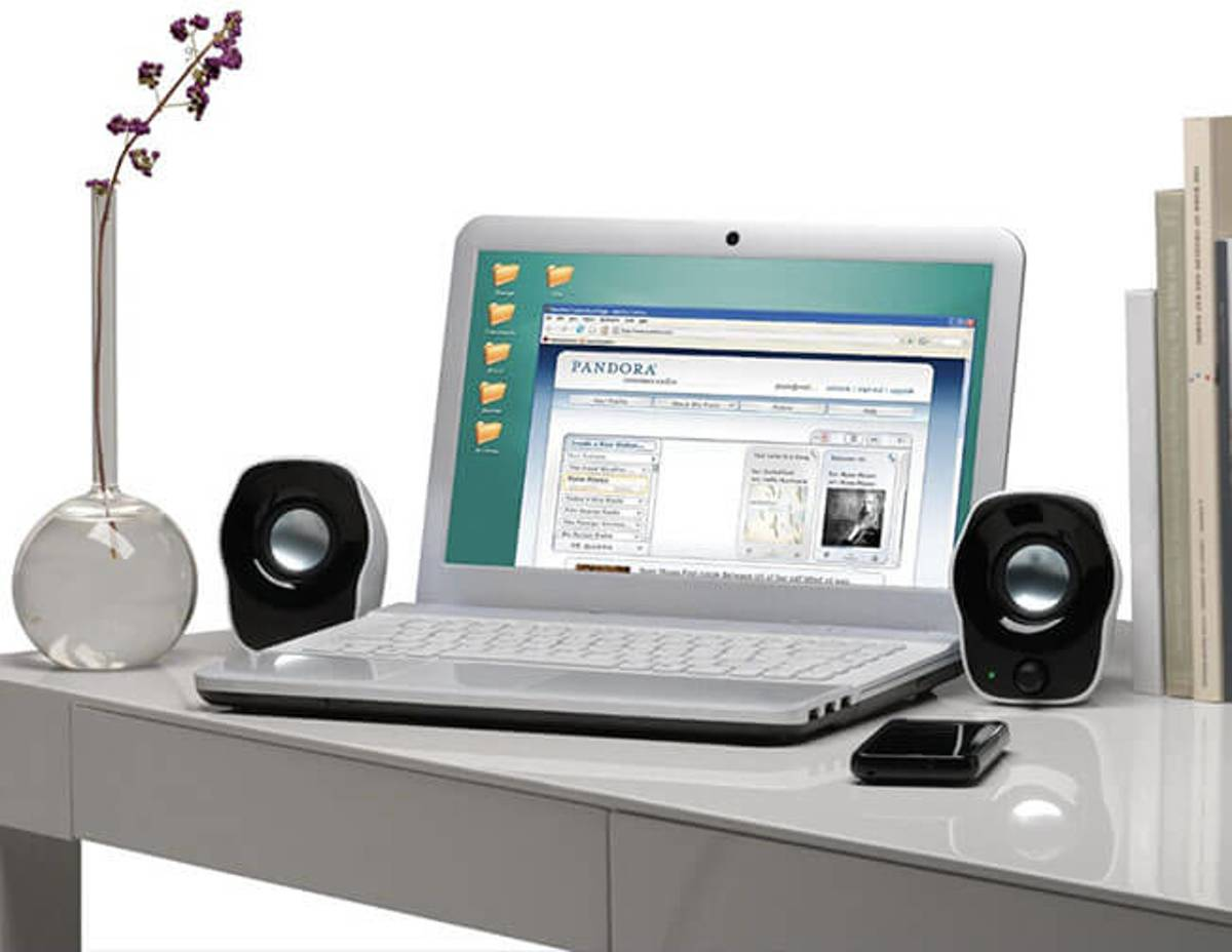 Logitech Z120 Stereo Speakers Usb Speaker For Laptop Notebook Pc