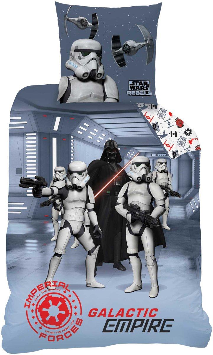 Star Wars Dark Side - Dekbedovertrek - Eenpersoons - 140 x 200 cm kopen