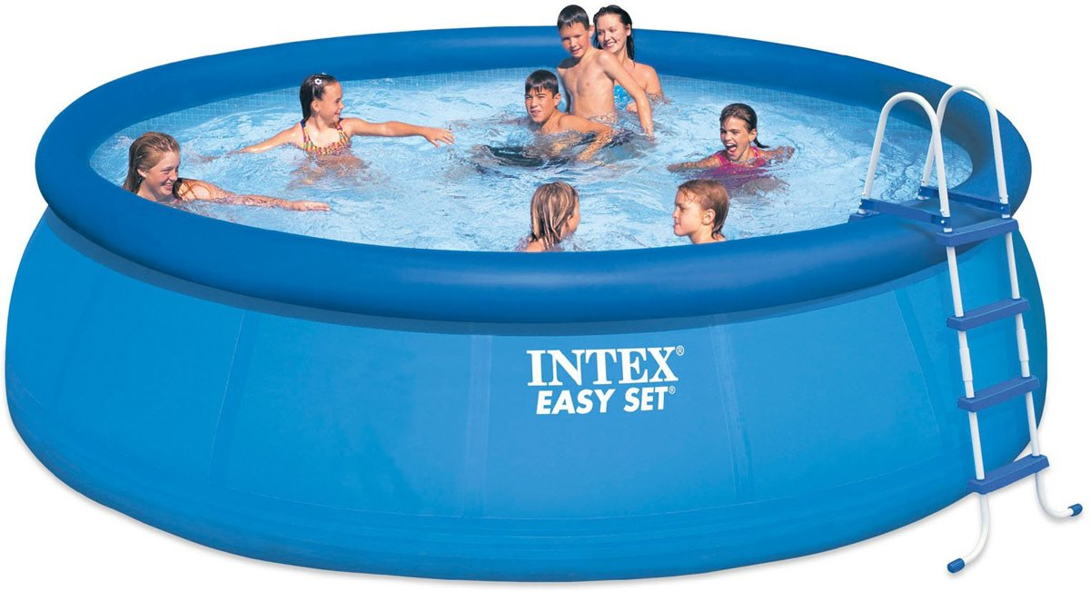Intex Easy Set zwembad 457x84 (met reparatiesetje)