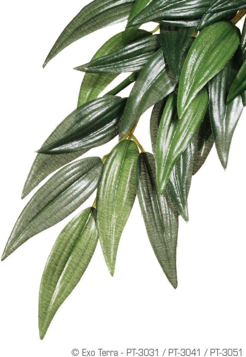 Exo Terra - Kunstplant voor Terraria - Ruscus - M - 17,5x3x55,5cm