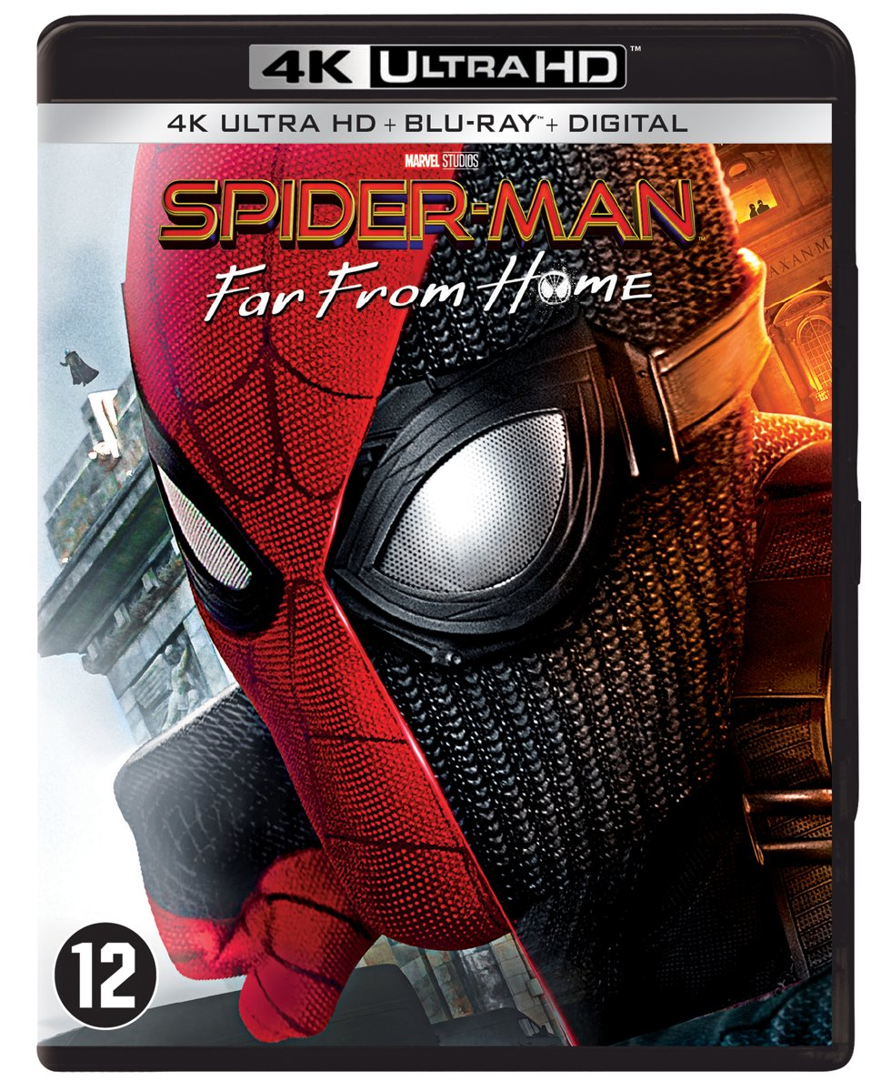 Spider-Man: Far From Home (4K Ultra HD Blu-ray)-
