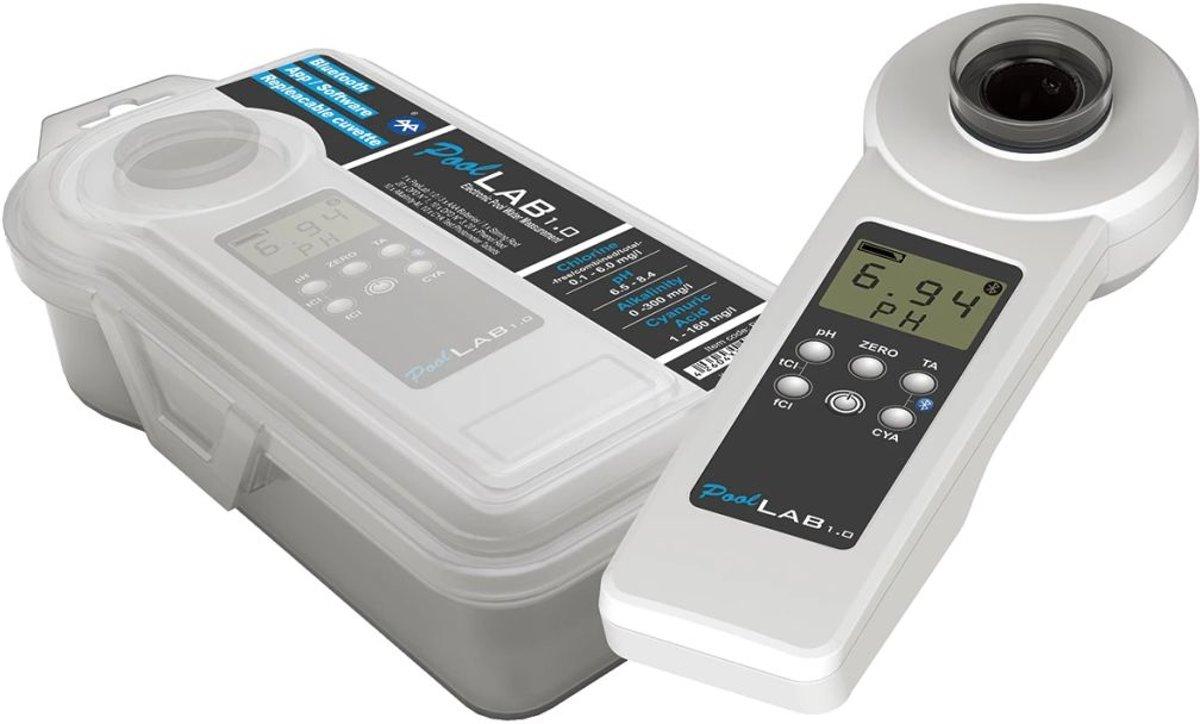 Pool Improve handfotometer POL01 zwart en wit