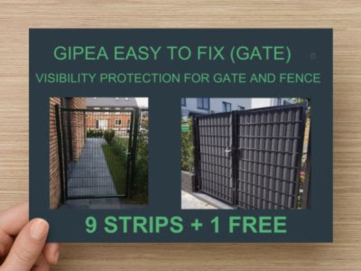 Gipea Easy to fix Vlechtband (GATE) 10 st. RAL 9005 kopen