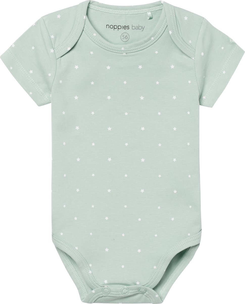 Noppies Romper Sevilla - Grey Mint - Maat 62