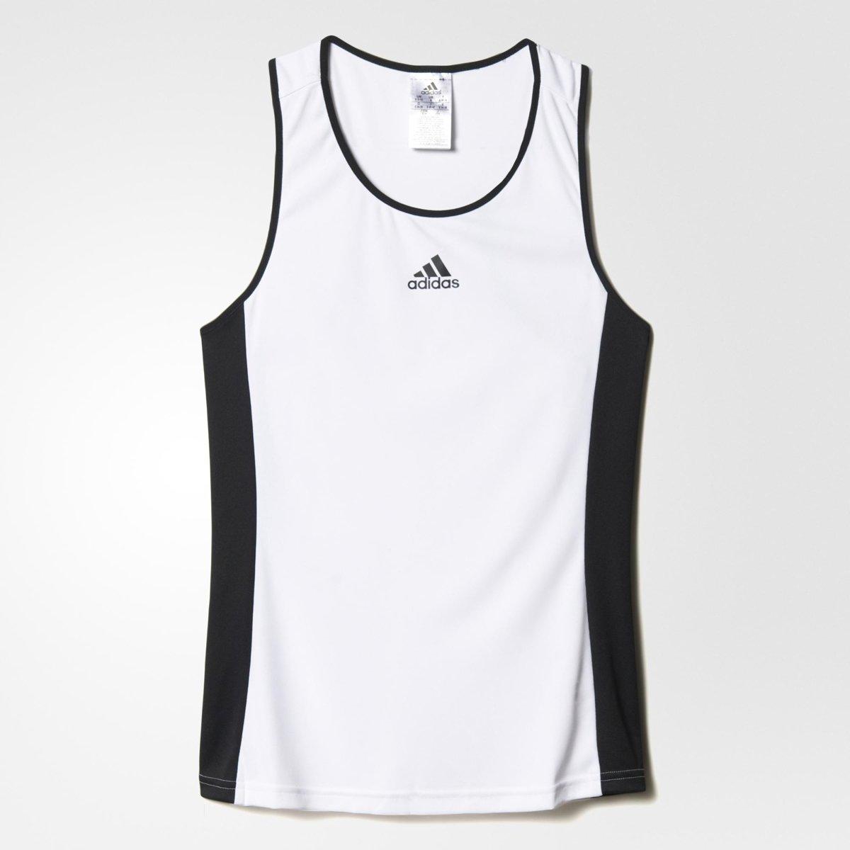 adidas Court Tank - Sportshirt - Dames - S - White thumbnail