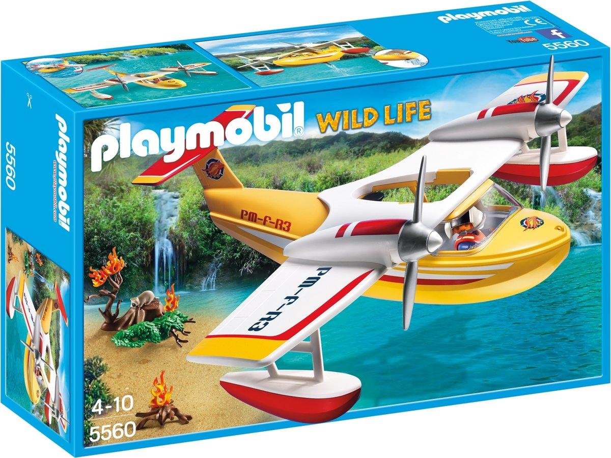 PLAYMOBIL Brandblusvliegtuig - 5560