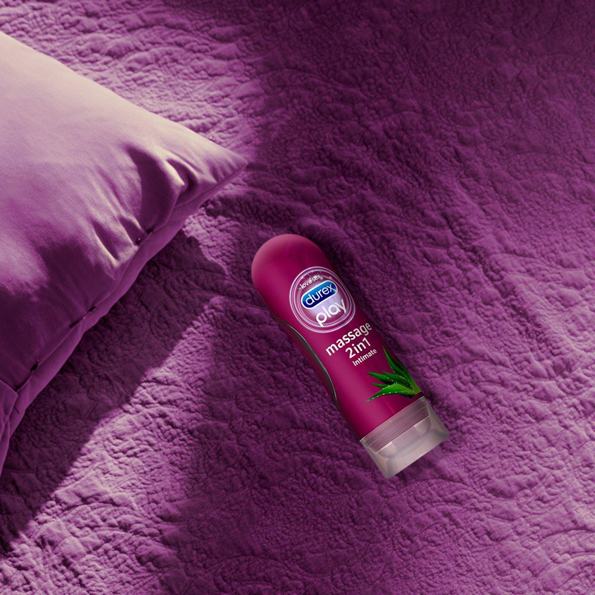 Durex Play Massage 2 In 1 Glijmiddel 200 Ml Alo Vera 2in1