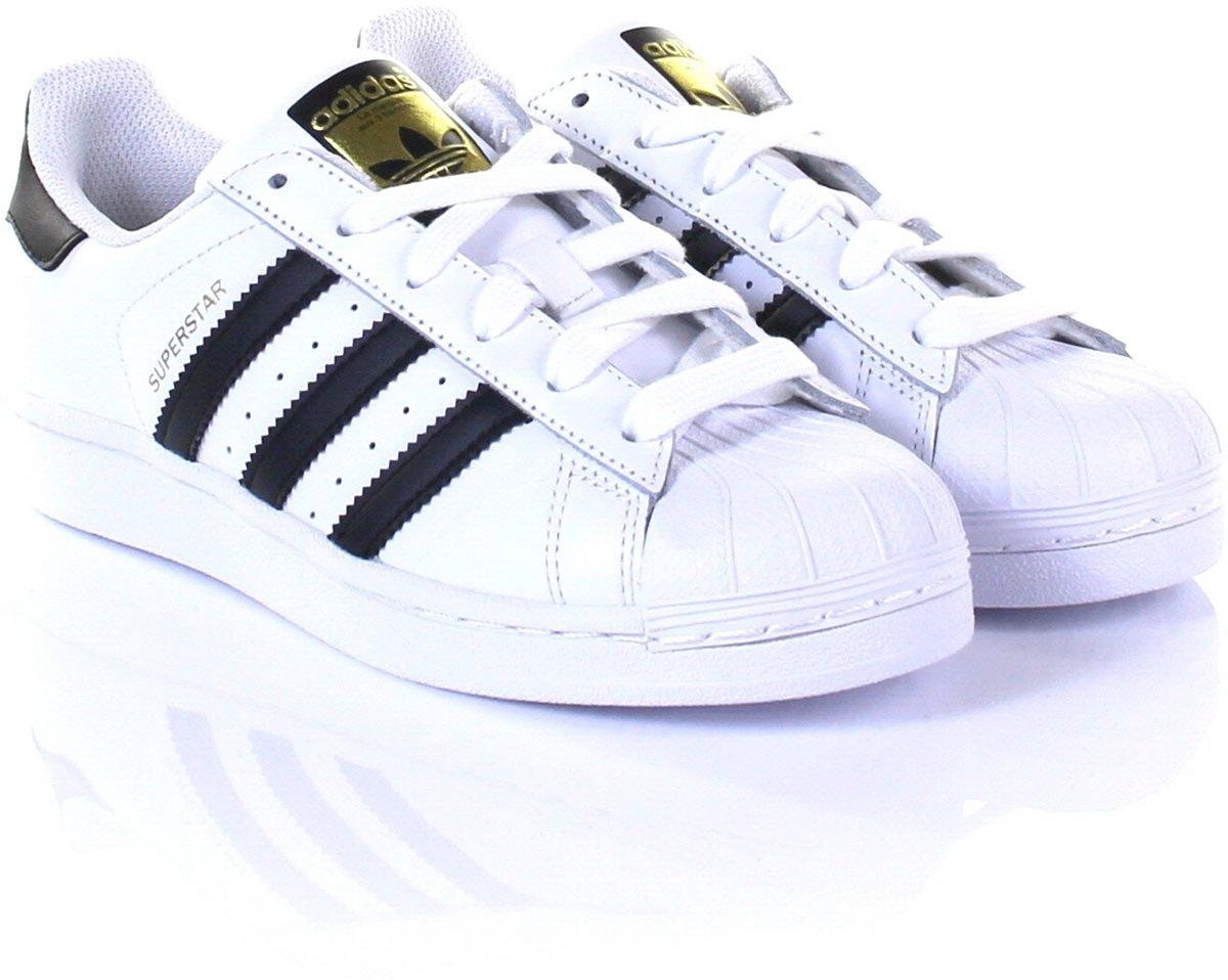 bfbaff63588 bol.com | Adidas Superstar J Originals wit-zwart maat 36