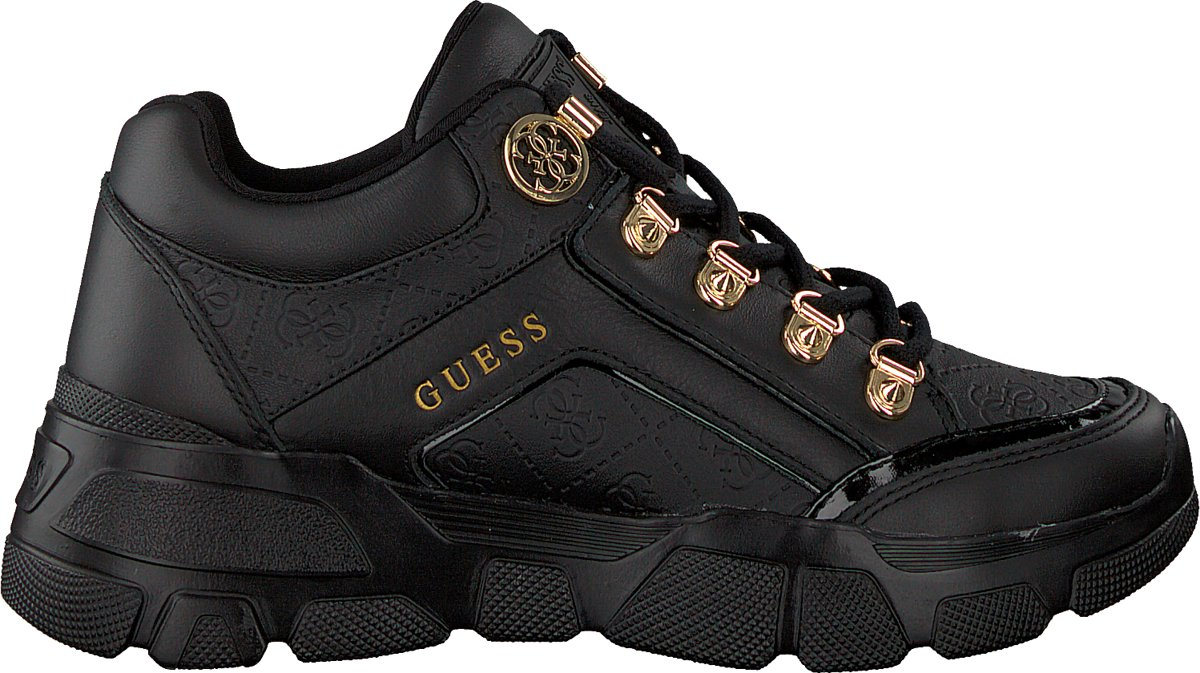   Guess Dames Sneakers Sike3 Zwart Maat 39