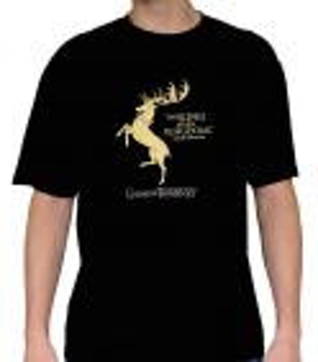 Merchandising GAME OF THRONES - T-Shirt Baratheon Men (L) kopen