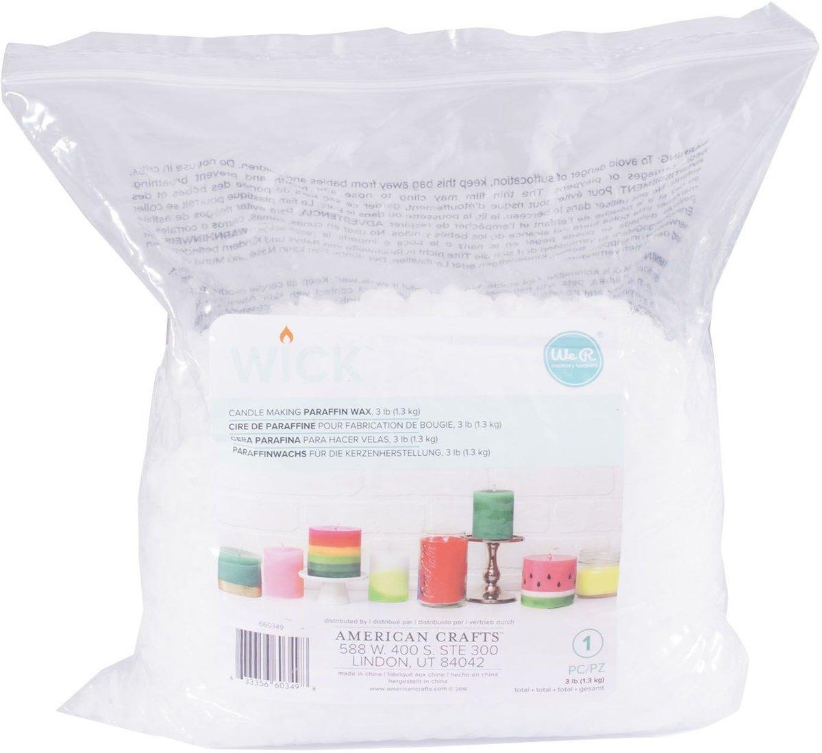 We R - Wick Kaarsen wax -  paraffine - 1.3kg kopen