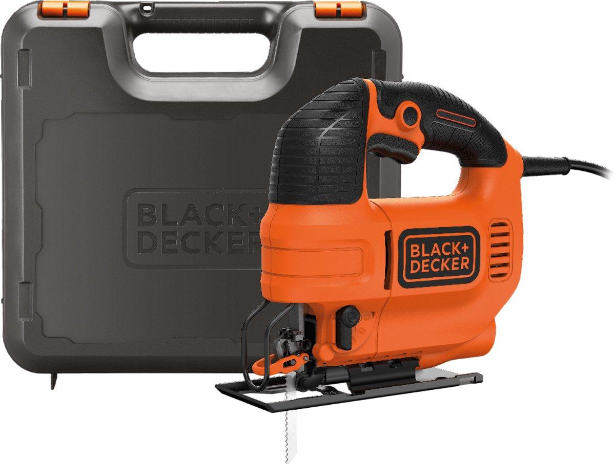 BLACK+DECKER - KS701PEK-QS - 520W Pendeldecoupeerzaag met 4 pendelstanden en koffer