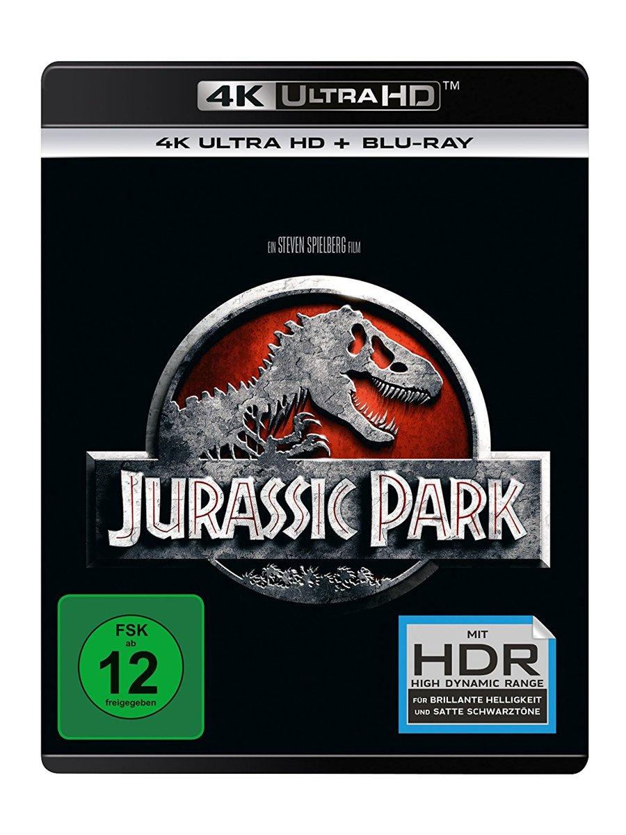 Jurassic Park (Ultra HD Blu-ray & Blu-ray)-