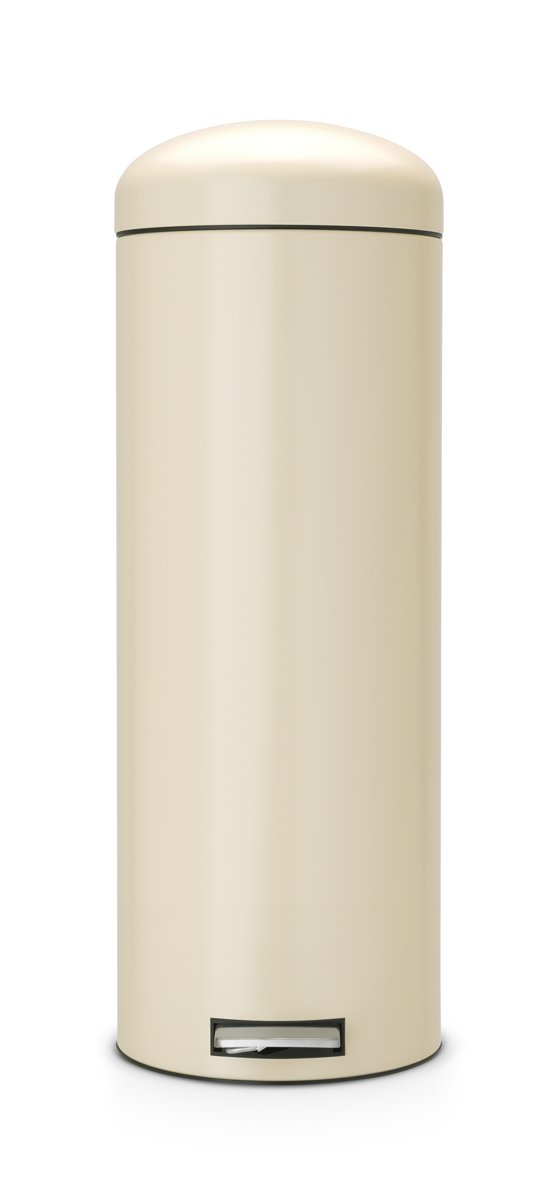 Brabantia Motioncontrol Pedaalemmer 30 L.Pedaalemmer 20 Liter Retro Bin Met Kunststof Binnenemmer Motion Control Almond