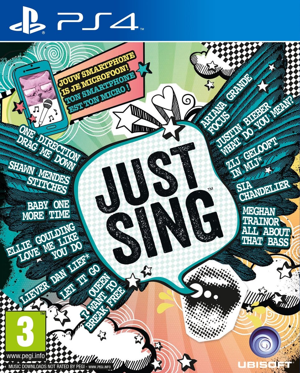 Just Sing PlayStation 4