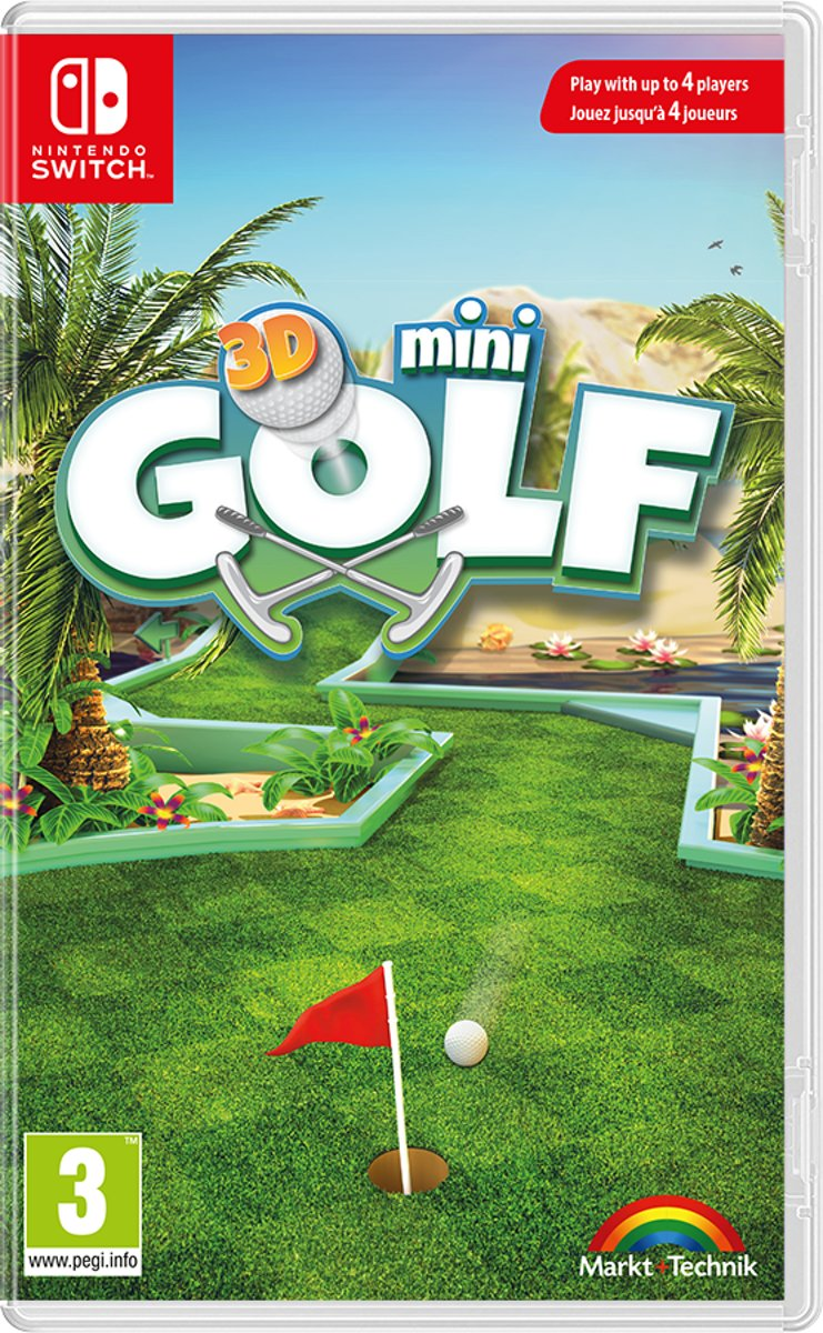 3D Minigolf Switch