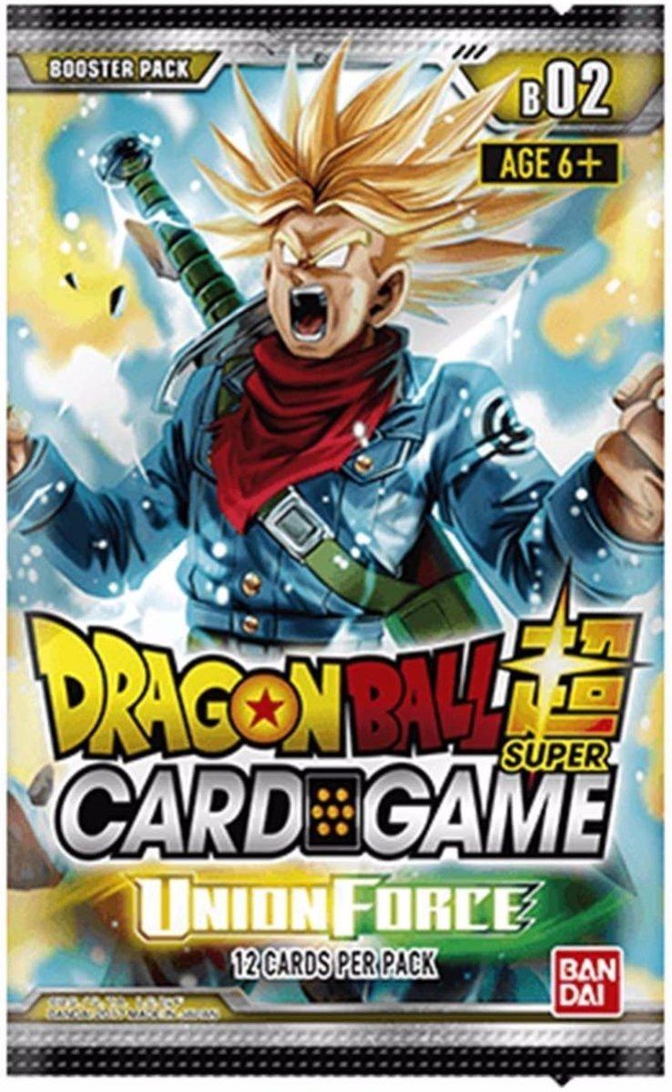 Dragon Ball Super 3 Booster Pakjes Union Force kopen