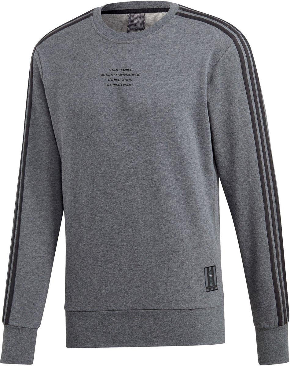 adidas Sporttrui Maat M Mannen grijszwart