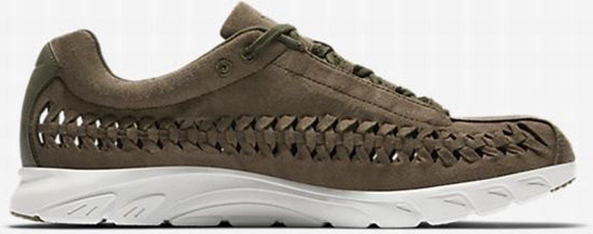 Nike Mayfly Tissé 833132-200 Chaussures De Sport - Unisex Maat 43 - Olive Moyen / Lumière Os Noirs XMiNE5qT