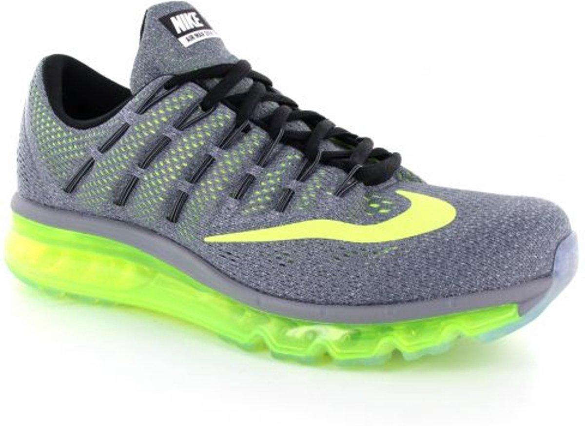 Nike Air Max 2016 Sneakers Heren grijsgeel Maat 43