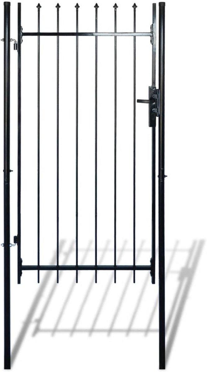 vidaXL Enkele poort (speer / 100 x 150 cm) kopen