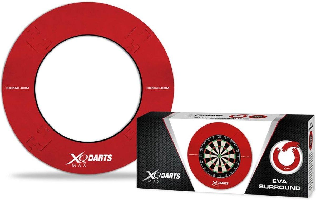 XQmax Darts dartbord surround EVA rood QD7300420