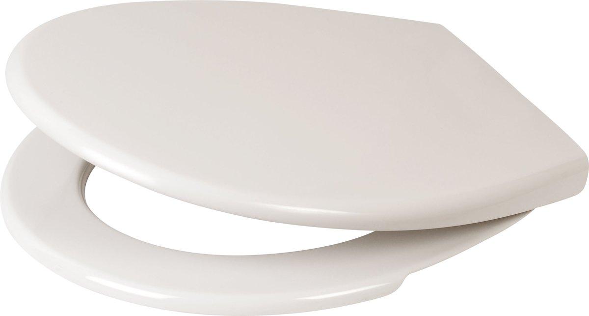 Plieger Economy wc-bril - Thermoplast - Pergamon kopen