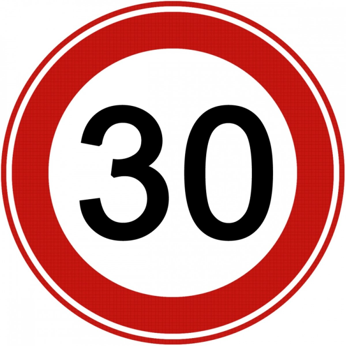 Verkeersbord 30 Km kopen