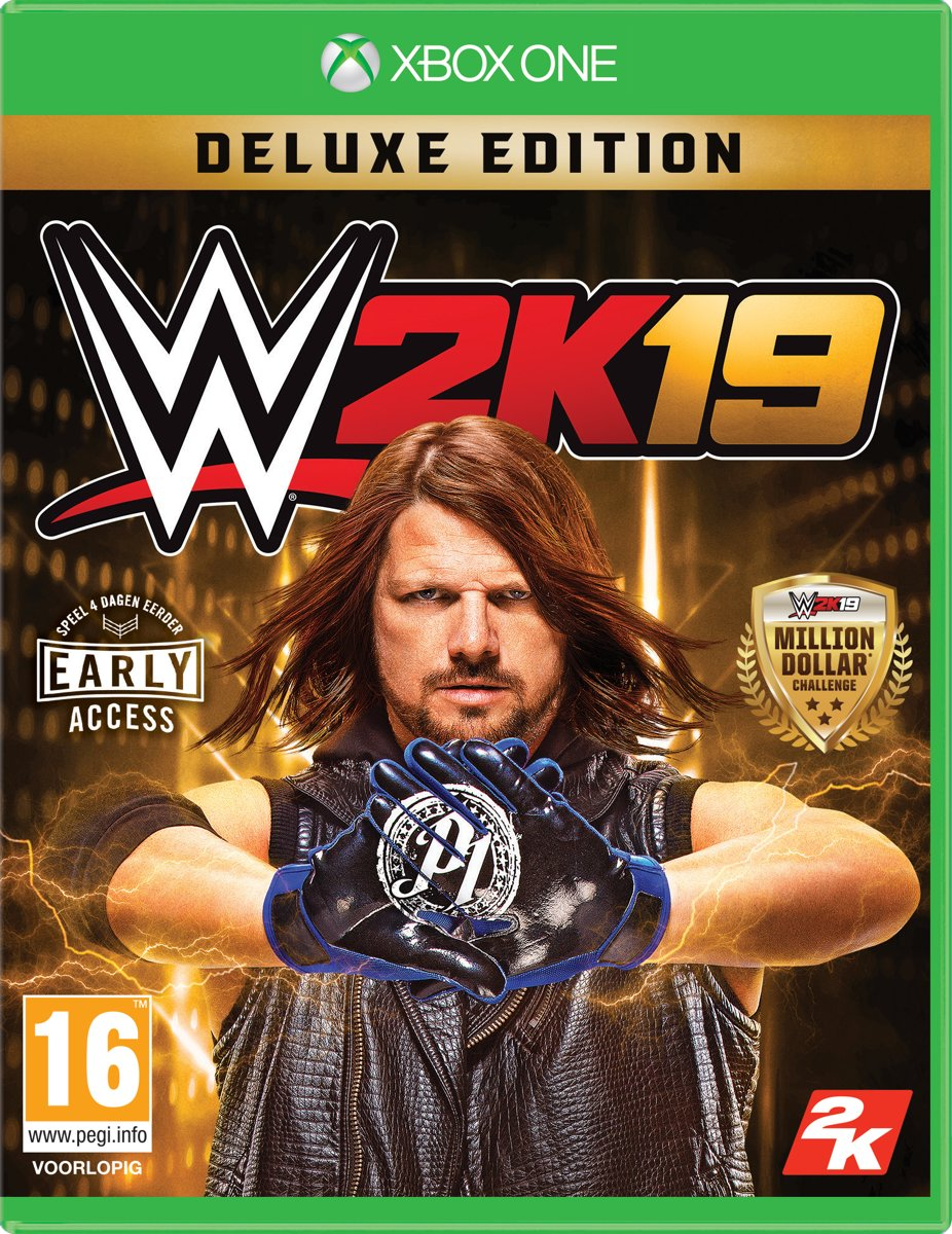 WWE 2K19 - Deluxe Edition Xbox One