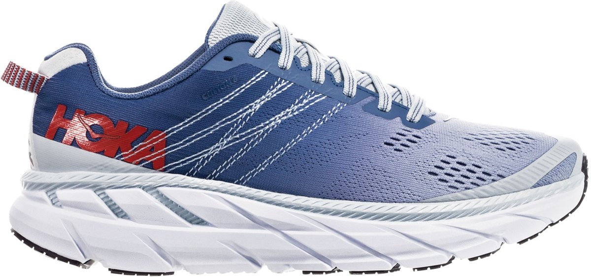Hoka Sportschoenen Maat 38 23 Vrouwen donkerblauwroodwit