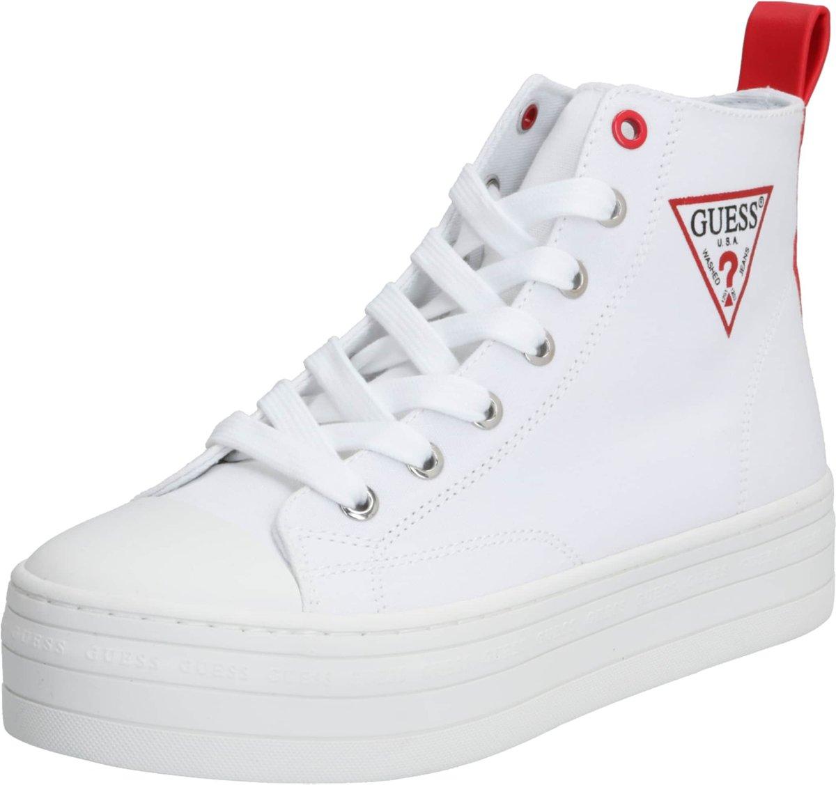 Guess Bokan Dames Sneakers Wit Maat 39