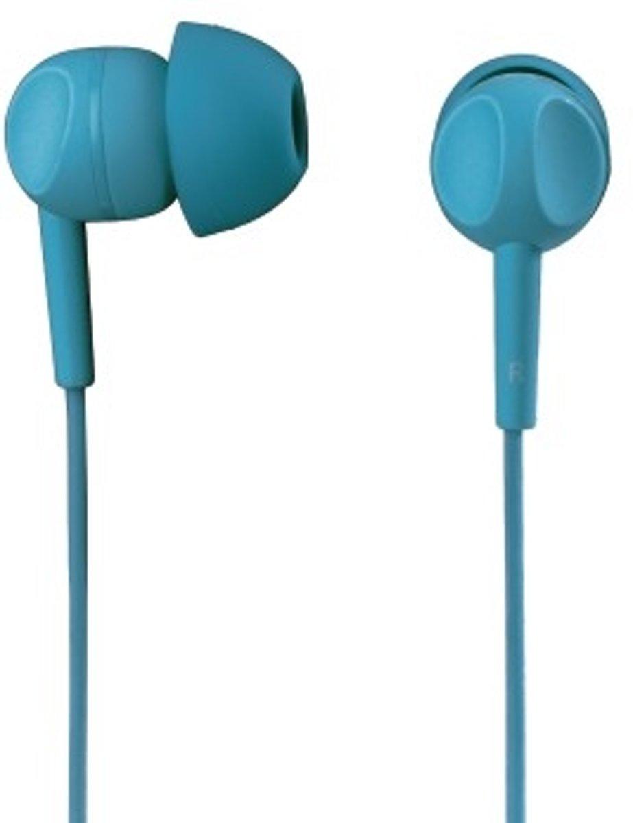 Hama EAR3005TQ mobiele hoofdtelefoon Stereofonisch In-ear Turkoois Bedraad kopen